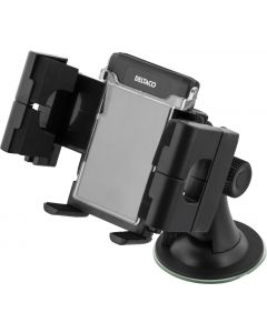 DELTACO ARM-205 Smartphone houder voor in de auto - Verstelbare bevestiging met zuigkrachtplug