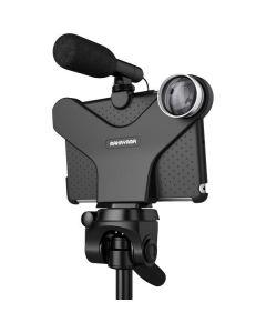 Movie Mount, speciaal ontworpen van harde plastic voor de iPad mini / 2/3 en de video graphics, ondersteunende functie, zwart