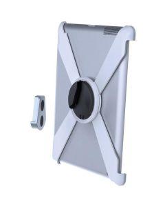 EPZI Slide in muurbeugel, muurbeugel voor iPad 2/3/4, 360 ° rotatie, aluminium / kunststof, wit