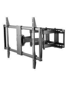 DELTACO ARM-474 Heavy-duty draaibare TV Beugel, 60-100 inch, max. 80kg