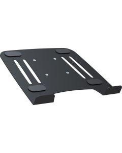 Notebook plank voor tafel armen, VESA 75, Zwart