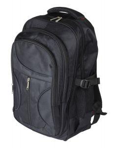 """DELTACO NV-777 Laptop-rugzak, voor computers tot 15"""", gevoerde schouderbanden, 19,5 L, zwart"""
