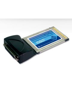 SUNIX, CardBus met 2 seriële poorten. 2xDB9 male. RS-232.