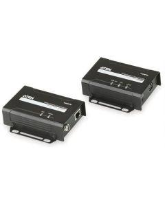 ATEN VE 801 - HDMI extender over Ethernet, HDBaseT-Lite, 70m, 1080p / 3D / 4K, zwart