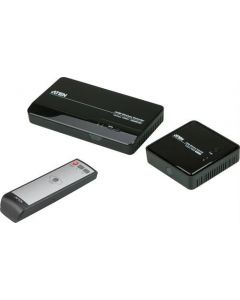 ATHENE VanCryst draadloze overdracht van HDMI-standaard, de overdracht van video, audio en IR 1080p WHDI 5GHz, tot 30m bereik, zwart
