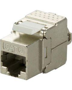 "Cat6 STP Keystone connector "" Tool Free"""
